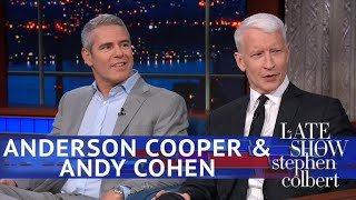 Download Andy Cohen Kept Texting Anderson Cooper During Trump's Helsinki Fiasco Video