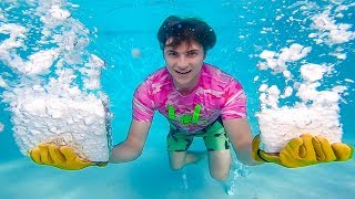 Download DRY ICE UNDERWATER!! Video