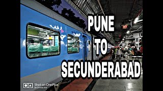 Download Pune To Secunderabad : Full Journey : 12025 Pune - Secunderabad Shatabdi Express : Indian Railways Video