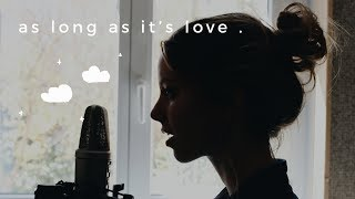 Download Romy Wave & Maxzwell - As Long As It's Love {Lyric Video} original song Video