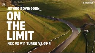 Download Honda NSX vs Porsche 911 Turbo vs Nissan GT-R: on the limit Video