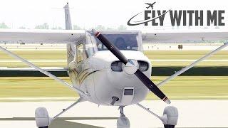 Download X-Plane 11 Flight School #5 - Starting the Cessna 172 SP Video