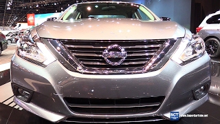 Download 2017 Nissan Altima Midnight Edition - Exterior, Interior Walkaround - 2017 Chicago Auto Show Video