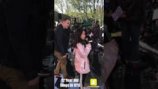 Download BTS - 12 Year Old Sings At BTS Concert Video