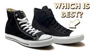 Download Converse Chuck Taylor In Depth Comparison | Chuck 1 vs Chuck 2 Video