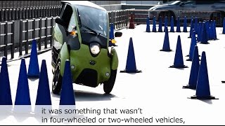 Download TOYOTA i-ROAD(SMART MOBILITY CITY 2015) Video