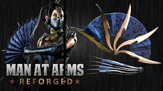 Download Kitana's War Fans (Mortal Kombat X)- MAN AT ARMS: REFORGED Video