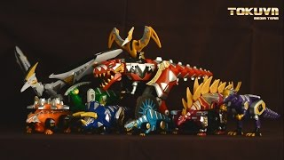 Download [TMT][032] Review DX Killer Oh! Bakuryuu Sentai Abaranger! 爆竜戦隊アバレンジャー! DinoStegazord Video