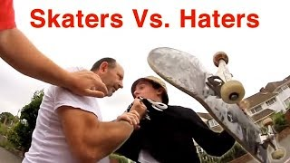 Download Skaters Vs. People 2018 (Scooters, Moms, Dads, Kids, Old People, Instant Karma, Bikers, Cars, Lady) Video