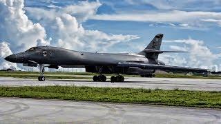 Download The B-1B ″Bone″ Lancers of Guam Make North Korea Back Down Video
