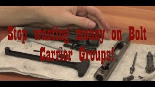 Download Stop wasting money on AR-15 BCG's: Get the best for the money (Preparing for the 2016 Election) Video