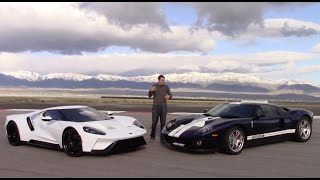Download 2017 Ford GT vs. 2005 Ford GT: First Comparison Test! Video