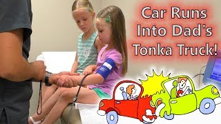 Download Tonka Truck vs Honda! Car Accident While Filming a Video & Doctor Visit Check Up Video
