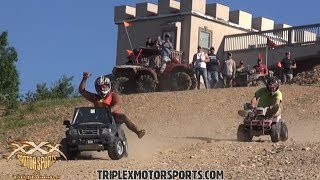 Download BARBIE JEEP RACING OFF CASTLE MOUNTAIN! Video
