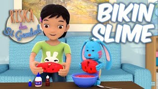 Download Riska dan Si Gembul - Bikin Slime Video