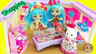 Download Shoppies Shopping At Calico Critters Boutique + Shopkins Mall Fashions with Surprise Blind Bags Video
