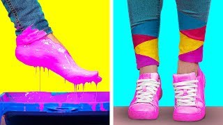 Download CREATIVE DRAWING TRICKS AND HACKS || Cool and Funny DIY Art Hacks by 123 GO! Video