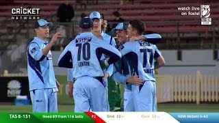 Download Highlights: NSW v Tasmania, JLT One-Day Cup Video