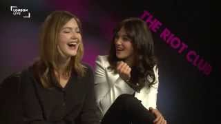 Download Riot Club cast on terrible chat up lines and gongoozling Video