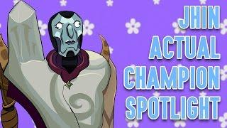 Download Jhin ACTUAL Champion Spotlight Video