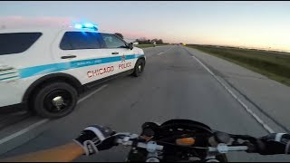 Download BIKERS VS COPS - Motorcycle Police Chase Compilation #15 - FNF Video