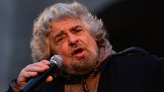 Download Beppe Grillo, The clown prince of Italian politics. Video