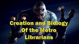 Download Metro 2033 Library Monster Explained: The Librarian | Stare, Scare, Demon fight, Territory, Behavior Video
