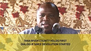 Download Tana River county holds first dialogue since devolution started Video
