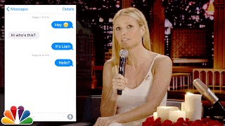 Download First Textual Experience with Gwyneth Paltrow Video