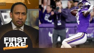 Download Stephen A. Smith on Vikings' winning touchdown: I've never seen anything like it | First Take | ESPN Video