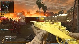 Download Modern Warfare Remastered M40A3 Gold Camo Grinding! Video