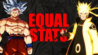 Download Ultra Instinct Goku VS Six Paths Naruto w/ Equal Stats | Dragon Ball Super VS Naruto Shippuden Video