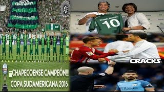 Download CHAPECOENSE CAMPEÓN DE LA SUDAMERICANA | Noticia FALSA de Ronaldinho | Suspenden al KUN Video