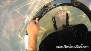 Download RideAlong! US Navy F/A-18C Hornet East Demo Team (Helmet Cam) - Thunder Over Michigan 2010 Video