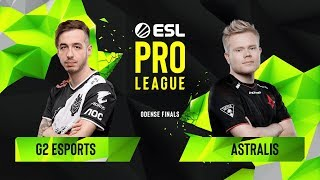 Download CS:GO - Astralis vs. G2 Esports [Dust2] Map 1 - Group B - ESL Pro League Season 10 Finals Video