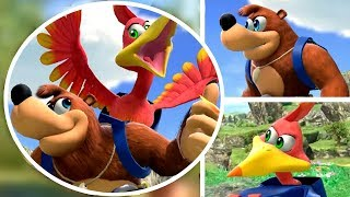 Download Banjo Kazooie in Super Smash Bros Ultimate (New DLC Character) Video