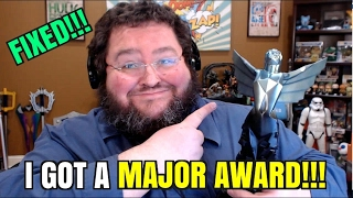 Download (FIXED) I GOT A MAJOR AWARD!!! 2016 Game Awards Statue for Trending Gamer! Video