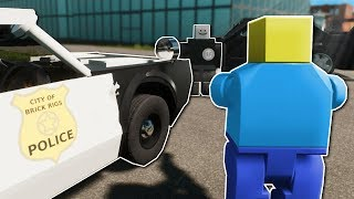 Download POLICE CHASE IN NEW CITY! - Brick Rigs Multiplayer Gameplay - Lego Cops and Robbers Video