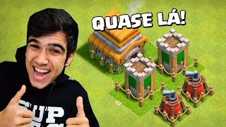 Download FINALMENTE MAXIMIZANDO MEU CV 6 - COMEÇANDO NO CLASH OF CLANS #16 Video