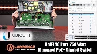 Download UniFi 48 Port 750 Watt Managed PoE+ Gigabit Switch with 10 Gigabit SFP+ Review Video