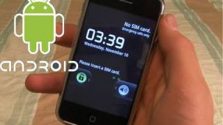Download How To Install Android 2.2.1 On iPhone 3G/2G - Dual Boot Froyo 2.2 Video