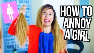 Download HOW TO ANNOY A GIRL | MyLifeAsEva Video