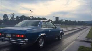 Download Twin turbo 6.0 chevy malibu goes 9 5 lifting early Video