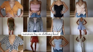 Download Massive Try-On Beachy / Summer Clothing Haul l Olivia Jade Video