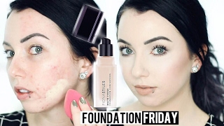 Download FIONA STILES MATTE FINISH FOUNDATION Acne/Pale Skin {First Impression Review & Demo!} Video