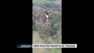 Download Video da cuenta de la magnitud del accidente aéreo en Colombia Video