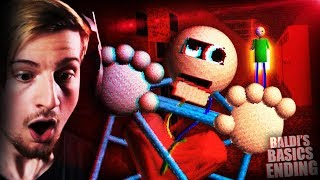 Download THE NEW CHARACTER HELPED ME ESCAPE THE SCHOOL!! || Baldi's Basics ENDING (Items/ Character Update) Video
