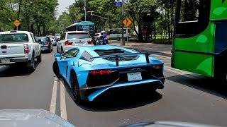 Download Lamborghini Aventador LP750-4 SV - Ciudad de México Video