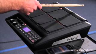 Download Roland SPD-SX Sampling Pad Overview and Demo | UniqueSquared Video