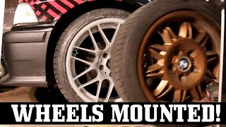 Download VMR Wheels and Tires Get Mounted on Turbo E36! Video